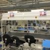 Surplus 8\' Vertical Laminar Flow Hood Seated Work Station for sale