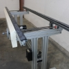 Constant Run 82 In Edge Belt Conveyor with Speed Control for Sale