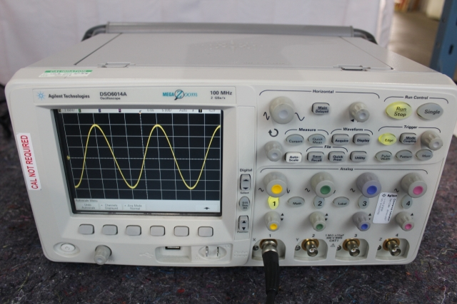 Oscilloscope Model Number : Used agilent dso a mixed signal oscilloscope for sale