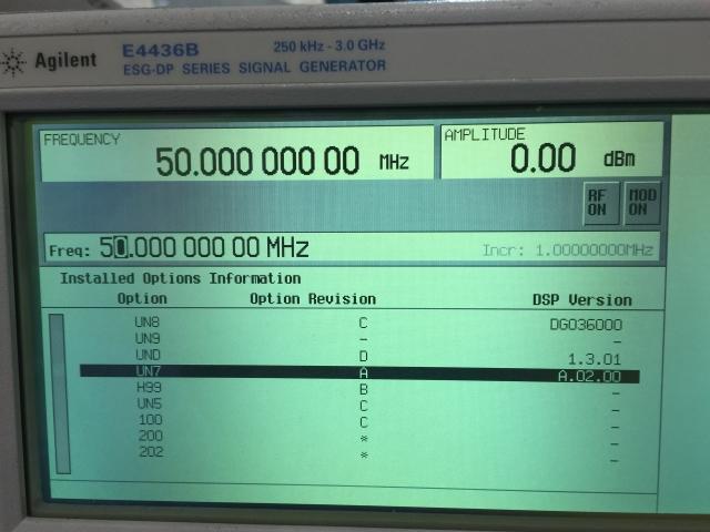 Agilent Signal Generator : Agilent e b signal generator test equipment for sale