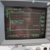 HP 8595E Spectrum Analyzer Test Screen