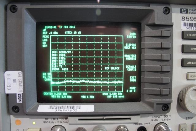 portable spectrum analyser