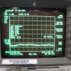 HP 8595E Spectrum Analyzer Testing Screen