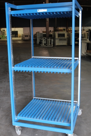 Bliss Stencil Storage Cart Used Smt Equipment For Sale
