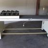 Dynapace flat belt conveyor with accumulator