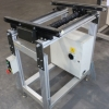 Used FlexLink Entrance Conveyor with adjustable incline for sale