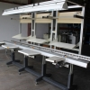 Used JOT 3 Man Inspection Conveyor for sale
