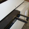 Used MPM Screen Printer conveyor rails
