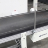 Simplimatic 14 foot Flat Belt Conveyor with signal tower
