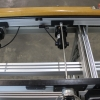 Surplus Simplimatic 5 Stage 119.5 Inch Inspection Conveyor with Adjustable Width