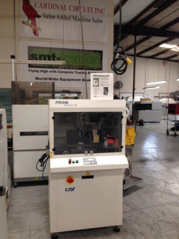 Pre Owned Usi Prism Ultra Coat 100 Smt Equipment For Sale