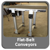 Flat Belt Conveyors For Sale
