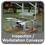 Inspection / Workstation Conveyors For Sale