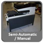 screen printers semi-automatic / manual