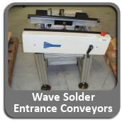 Wave Solder Entrance Conveyors For Sale
