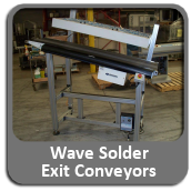 Wave Solder Exit Conveyors For Sale