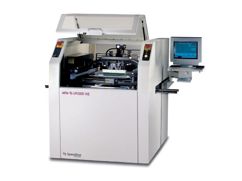 Speedline MPM Screen Printer UP2000