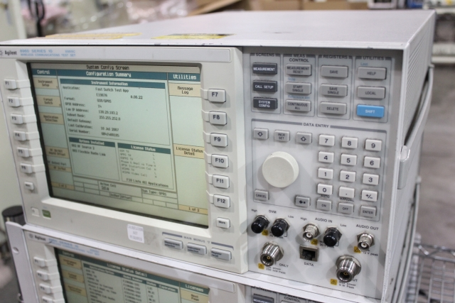 agilent 8960 e5515c wireless communication test set for sale rh cardinalcircuit com agilent 8960 programming manual agilent 8960 e5515c user manual