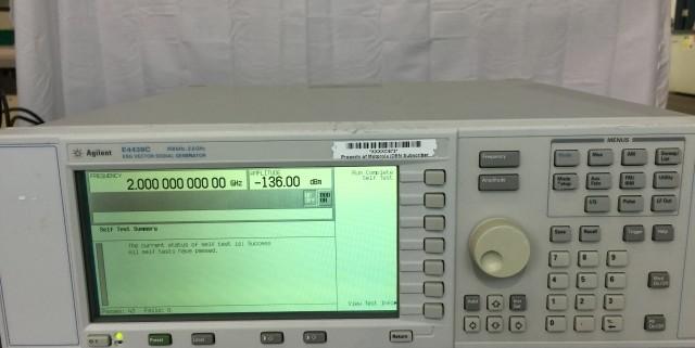 Agilent Signal Generator : Used agilent e c esg vector signal generator for sale
