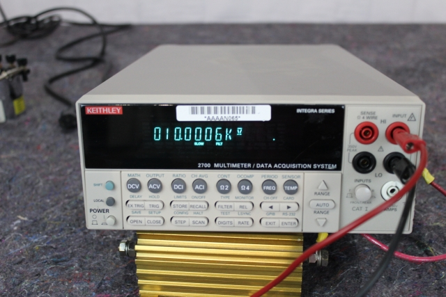 Used Keithley 2700 Multimeter For Sale Pre Owned Te Market